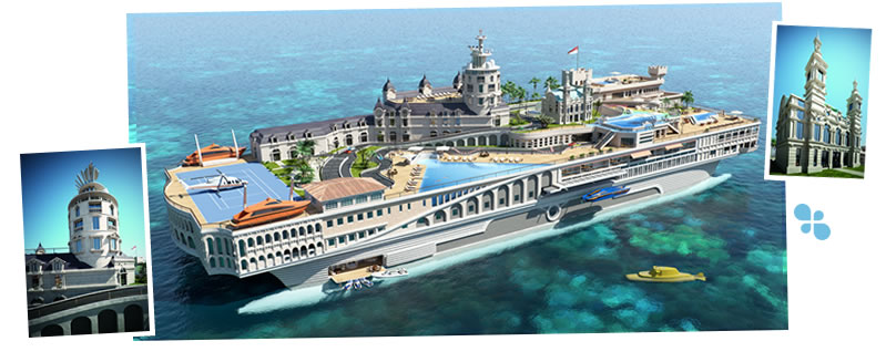 Yacht Island Design Concepts Themed Creators