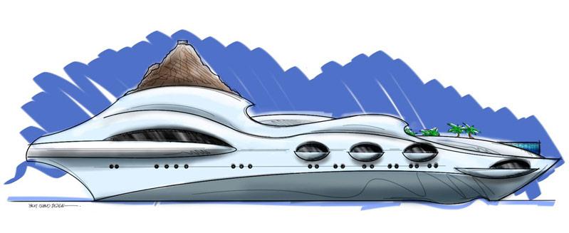 Yacht Island Design Concepts   Themed Yacht Creators   Luxury ...
